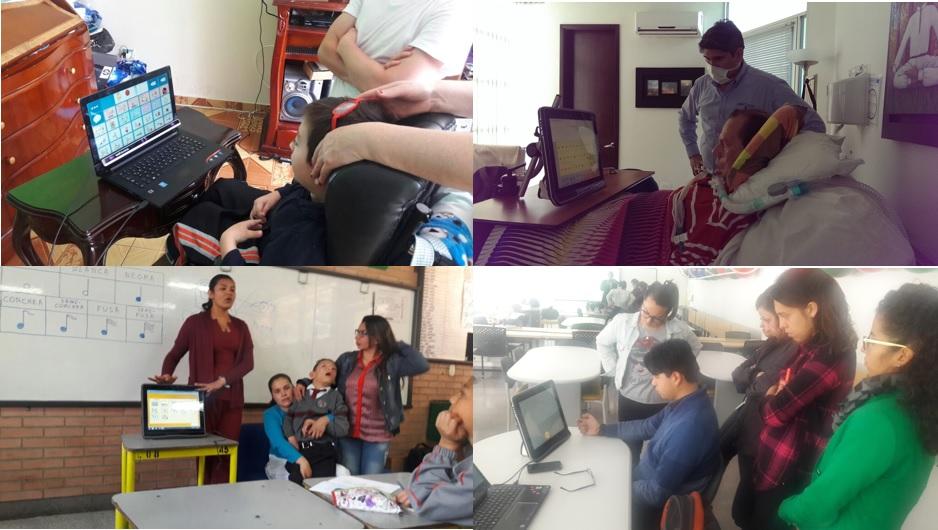 apoyos tecnologicos para la discapacidad colombia