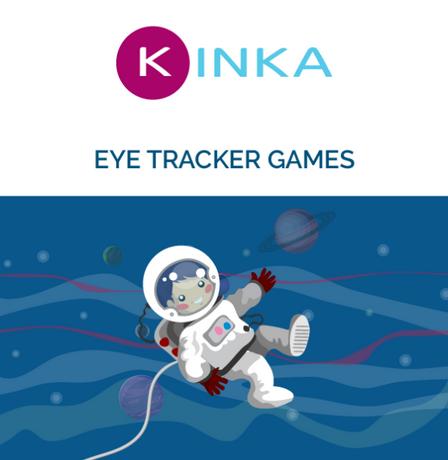 kinka juegos digitales por seguimiento ocular