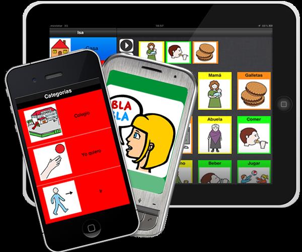 software para pictogramas digitales comunicacion aumentativa colombia