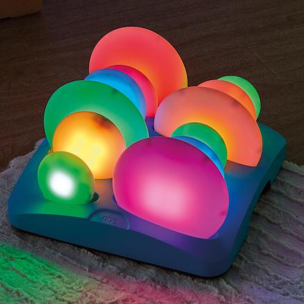Guijarros luminosos sensoriales iluminados para autismo colombia