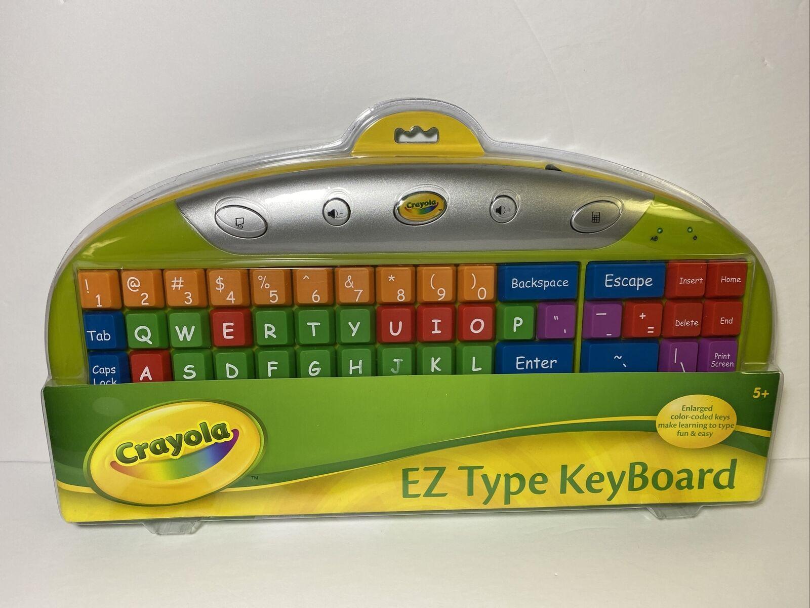 Teclado para PC grande infantil colores marca Crayola EZ
