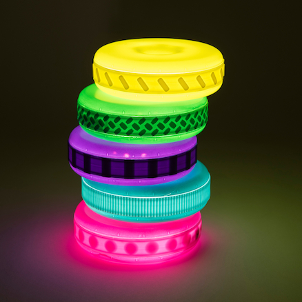Torre de discos de textura inmadurez sensorial colombia