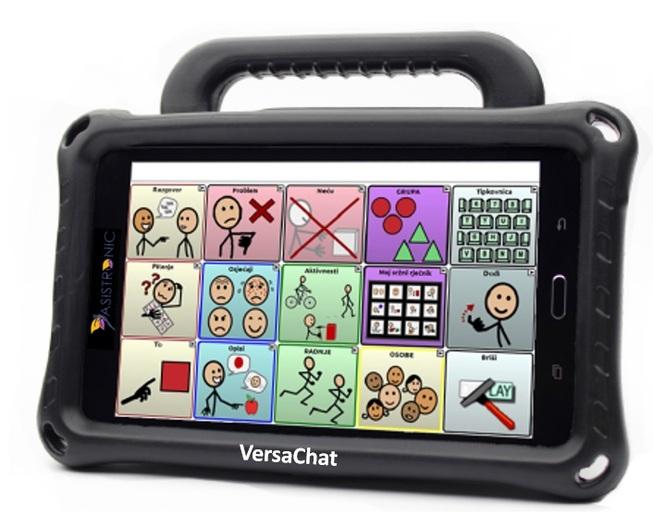tableta de comunicación aumentativa y alternativa acc tobii colombia