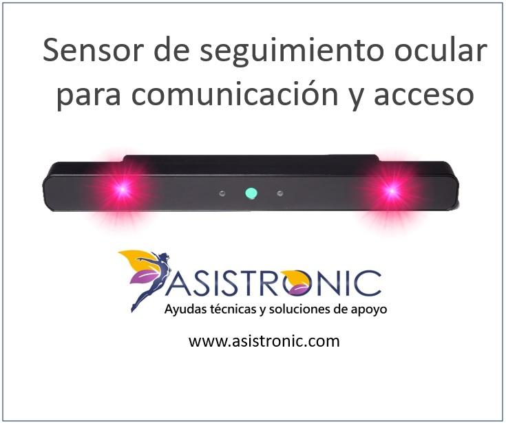 eyetracker eyetracking sensor de seguimiento ocular Comunicador asistido por lector ocular