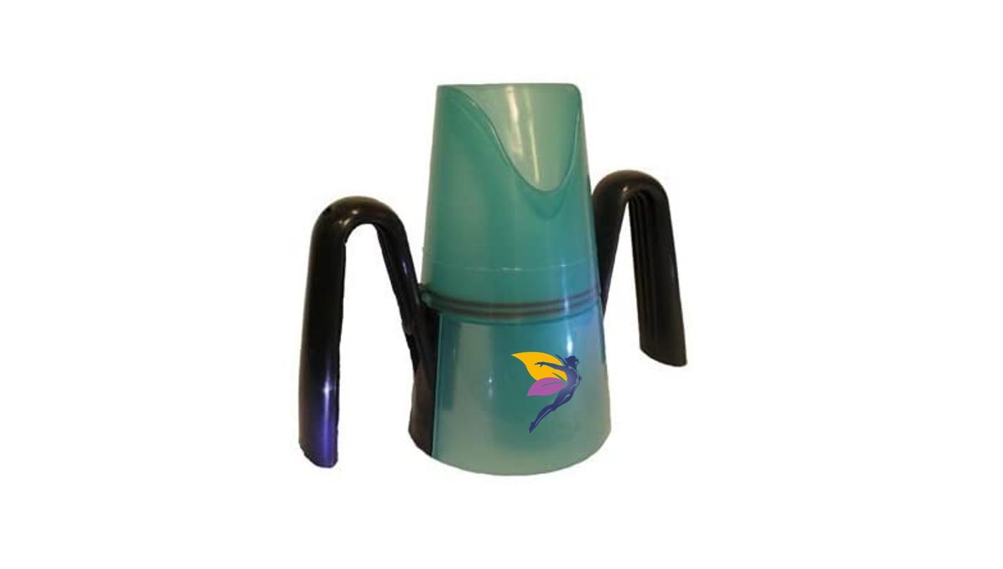Vaso con orejeras para Disfagia antiderrames