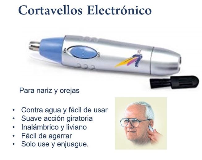Cortavellos portatil para ancianos