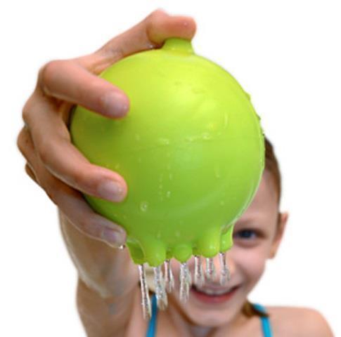 Juguete para la ducha Plui Rainball by Moluk - Color verde